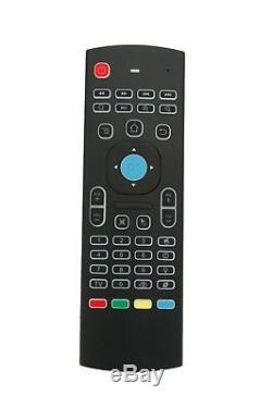 New Mx3 Air Mouse Sans Fil 2.4g Télécommande Pour Android Tv Mini Clavier Box
