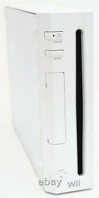 Nintendo Wii Video Game System 2-remote Bundle Rvl-001 Gamecube Console Blanche