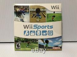 Nintendo Wii White Console Rvl-001 Game Cube Compatible Wii Sports Bundle