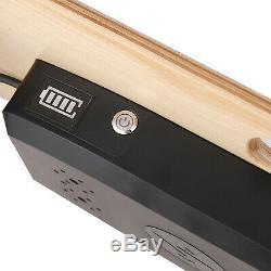 Noir 35 Électrique Planche À Roulettes Longboard 350w Télécommande Sans Fil Maple Plate-forme