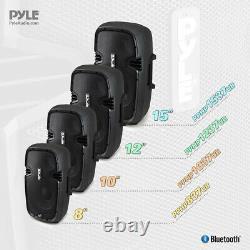 Nouveau Pphp1037ub 10'' Powered 2-way Speaker Mp3 Usb Entrée Sd + Bluetooth Et Enregistrement