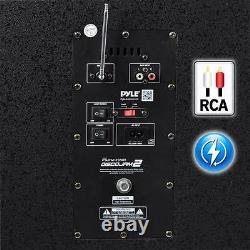 Nouveau Pyle-pro Psufm1235bt Pa Loudspeaker Karaoke System Bt Dj Lights, Mp3/usb/sd