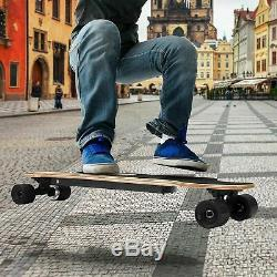 Nouvelle 35 Skateboard Électrique 350w 20 Kmh Avec Longboard Télécommande Sans Fil