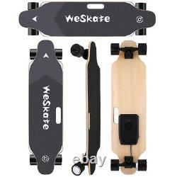 Nouvelle 35 Skateboard Électrique 350w 20 Kmh Longboard Avec Télécommande Sans Fil Us Contrôle
