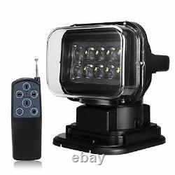 Nouvelle Cree Remote Control Search Led Work Light Magnetic Spot Wireless 50w 12v 24v