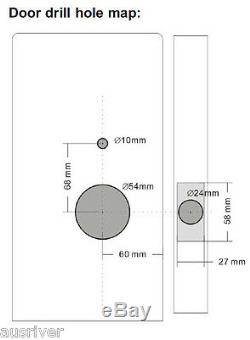 Numérique Code Électronique De Verrouillage De Porte Clés Mécaniques À Distance Du Verrouillage Des Commandes De Sécurité