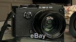 Olympus Pen-f Mint Body Noir Plus Wireless Remote Control