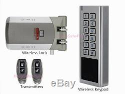 Ouverture Monotouche Verrouillage De La Porte D'accès Sans Fil De Contrôle À Distance Smart Lock Avec Clavier En Métal