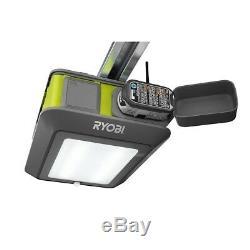 Ouvre-porte De Garage Ryobi Ultra Quiet 2 HP Drive Sans Fil Télécommande Wi-fi