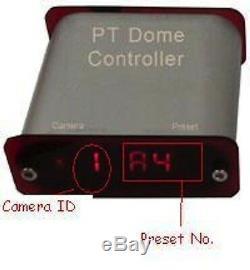 Pan Tilt Zoom Wireless Data Télécommande Contrôleur De Caméra Ptz Pelco D Rs485