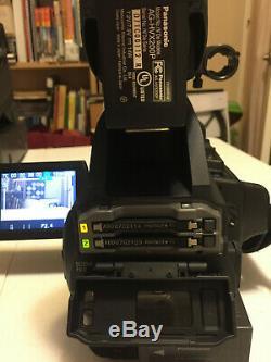 Panasonic Ag-hvx200ap 3ccd Hd P2 Dvcpro Caméra Vidéo Numérique Avec Accessoires