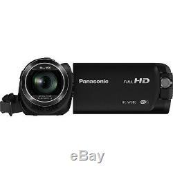 Panasonic Hc-w580k Caméscope Hd Avec Wi-fi, Caméra Intégrée Multi Double Scène