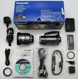 Panasonic Hdc-sdt750 Camcorder Boxed Sdxc Hd Digital Video Cam & Vw-clt1 3d Lens