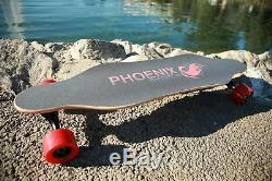Phoenix Ryders Électrique Planche À Roulettes Double Moteurs 16 Mph Télécommande Sans Fil