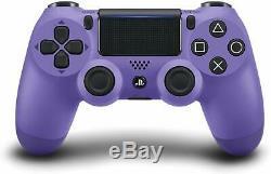 Playstation 4 Dualshock 4 Électrique Violet Contrôleur Sony Ps4 Sans Fil À Distance