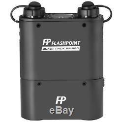 Point D'éclair 360 Streaklight Ttl Flash Pour Canon Avec Power Pack Bp-960 Open Box