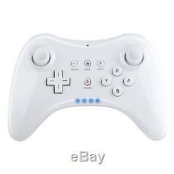 Pour Nintendo Wii U Pro Sans Fil Bluetooth Télécommande Gamepad Manette De Jeu Us