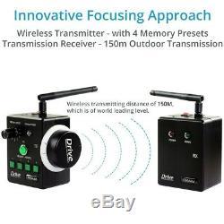 Proaim Dslr Caméra Sans Fil Follow Focus Cde Objectif À Distance Kit Système 15mmrail
