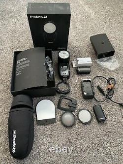 Profoto 901206 A1 Air Ttl-s Srudio Light Pour Nikon Avec Batterie Supplémentaire