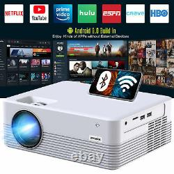 Projecteur Intelligent, Projecteur Bluetooth Wifi Android, Mini Projecteur Sans Fil Us
