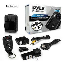 Pyle Boîtier Portable Haut De Gamme Caméra Sans Fil Portable, Personne Cam Worn