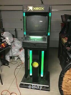 Rare Microsoft Original Xbox Kiosque De Travail À Distance 2 Clés Tv Sans Fil Controler