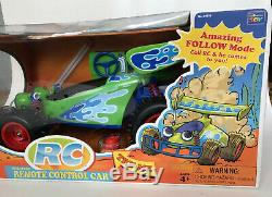 Rare Toy Story Collection Rc Télécommande Sans Fil Voiture Nouveau Disney Pixar