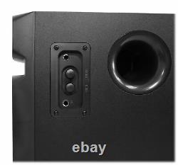 Rockville Home Theater/karaoke Machine System With5.25 Sub+(2) Wireless Vhf Mics