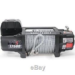 Smittybilt X2o 17500 Lb Winch Étanche Avec Télécommande Sans Fil Et Chaumard 97517
