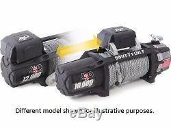 Smittybilt X2o Comp 10 000 Lb Sans Fil Corde Synthétique Treuil Avec Chaumard 98510
