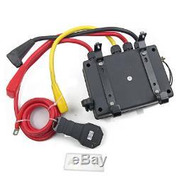 Solenoid Wireless Switch Remote Control Box Pack De Treuil 12v Tmax Avertir