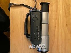 Sony Digital Handycam Video Camera Recorder Hi8 Dcr-trv140 & Tapes