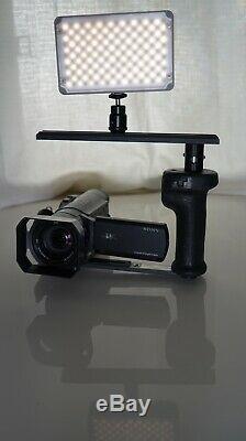 Sony Fdr-ax100 4k Caméscope Paquet