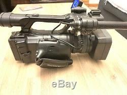 Sony Hvr-hd Z5p Professional Pal Caméra Vidéo Avec Hvr-mrc1 Unité D'enregistrement