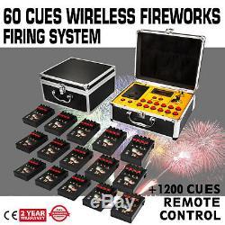 Système De Mise À Feu De Feux De Signalisation De 60 Signaux Avec La Partie À Télécommande Sans Fil De 1200cues