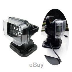 Télécommande Led Marine Bateau Voiture Searchlight Sans Fil Projecteur 10bulbs Périphérique