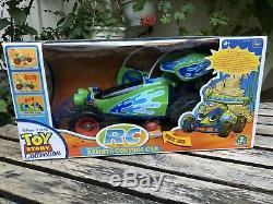 Thinkway Jouet Rc Télécommande Sans Fil Car Toy Story Signature Collection Rare