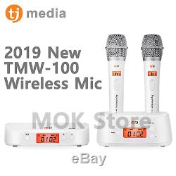 Tj Médias B80 Korean Karaoke Machine System + Micro Sans Fil W + Télécommande + Livre