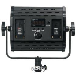 Tolifo Hs-600mb Led Caméra Vidéo Lumière 2.4g Sans Fil À Distance Panneau De Configuration Studio