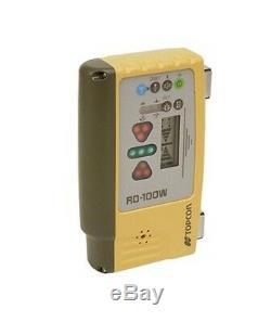 Topcon Rd-100w Affichage À Distance Sans Fil À 360 Degrés Pour Les Récepteurs De Contrôle De Machine