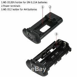 Tout Neuf Mb-d18 Batterie Grips Pour Nikon D850 Caméra + Télécommande Sans Fil