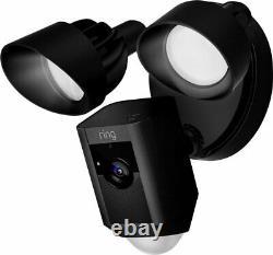 Toute Nouvelle Bague Floodlight Cam Motion Activé Caméra De Sécurité Noir Et Blanc