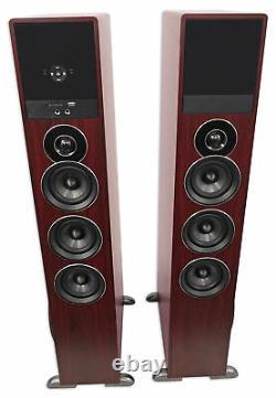 Tower Speaker Home Theater System Avec Sub Pour Sony X800e Télévision Tv-wood