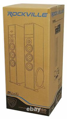Tower Speaker Home Theater System Withsub For Sony Smart Television Tv-black
