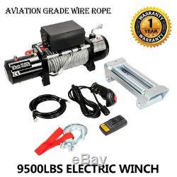 Treuil Électrique 9500lbs12v Pour Camion, Jeep, Remorque Pour Télécommande Sans Fil Suv