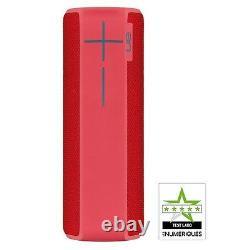 Ue Boom 2 Haut-parleur Mobile Rechargeable Bluetooth Sans Fil (red) Nouveau