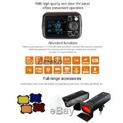 Us Godox 2.4 Ttl Hss Deux Têtes Ad200 Flash + Xpro-s Trigger Pour Sony + Softbox Kit