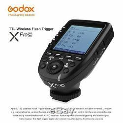 Us Godox 2.4g Ttl Hss Deux Chefs Ad200 Flash + Xpro-c 2.4g Ttl Trigger Pour Canon
