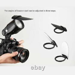 Us Godox V1-n Ttl Hss 1/8000s Camera Flash + Ak-r1 Flash Accesories Pour Nikon
