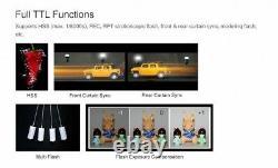 Us Stock Godox Tt685n 2.4g 1 / 8000s Ttl Caméra Sans Fil Speedlite Pour Nikon